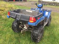 4WD 2015 Polaris quad bike UTE 570 not Honda Suzuki or Yamaha