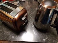 Copper and Silver toaster.