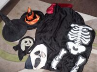 ADULT AND KIDS HALLOWEEN DRESSING UP ITEMS