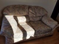 2seater sofa and 2x armchairs free to whoever needs it