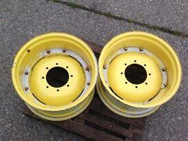 John Deere Rear Tractor Wheels 28 x 15