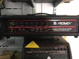 Peavey Delta Bass bass amp head and speaker
