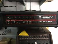Peavey Delta Bass bass amp head and speaker