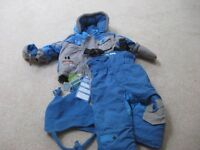 Boys ultimate ski suit brand new with tags age 12months