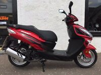 Lexmoto FMS 125 125cc Scooter -Flexible Payment Terms & Nationwide Delivery