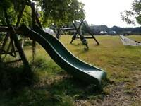 Garden slide - heavy duty wavy section