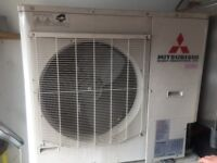 Mitsubishi air conditioner FDC 140 VS and double ceiling unit