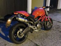 Ducati Monster 696 2011 Cat C
