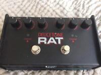 ProCo Deucetone RAT Analog Distortion Guitar FX Pedal