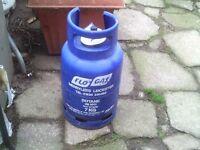 caravan or camper empty 7 kg gas bottle
