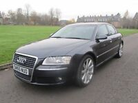 2005 55 Plate Audi A8 4.2 TDI Sport - S-Line - Finance Available - Warranty