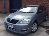 Toyota Corolla 1.6 petrol 5 Door L@@k Cheap BARGIN