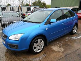 ford focus 1.6 style met blue only 59000 miles 2008 full years mot