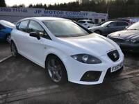 2007 SEAT LEON TDI FR WHITE **FULL SERVICE HISTORY ** NEW MOT**TWO OWNERS