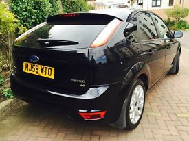 FORD FOCUS 1.6 ZETEC NEW FACELIFT SHAPE WITH PRIVACY GLASS 9 MONTHS MOT FULL SERVICE HISTORY