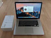 MacBook Pro 15 Retina 2.5GHz Intel Core i7. 16GB, 500GB SSD, High-end AMD Radeon R9 M370X 2048