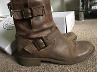 Designer ankle boots size 4