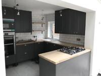 Carpenter Service ( Door fitting Kitchen fitting Laminate wood floor Painting . Tiling