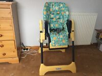 Very strong Chico highchair. In very good condition