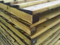 Brand New Heavy Duty Treated Fence Panels