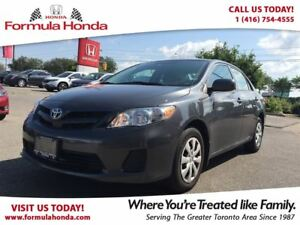 2013 Toyota Corolla CE | ACCIDENT FREE | LOW KM