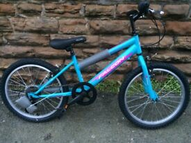 "New Falcon Starlight Girls Mountain Bike 20"" Wheels RRP £190"