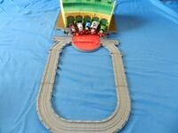 Thomas the tank engine tidmouth sheds with 5 trains