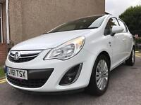 VAUXHALL CORSA 1.2 MANUAL EXCITE MODEL WITH ONLY 23K MILLAGE FULL VAUXHALL SERVICE HISTORY