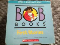 BOB BOOKS STARTING TO READ ENGLISH LEARN WITH 12 KIDS STORIES STAGE 1 SCHOLASTIC