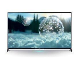 Sony KD55X8505 55 Inch 4K Ultra HD 3D LED TV KD55X8505BBU