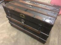 Antique old large chest