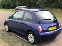 Nissan Micra 1.2 16v S 3dr 3 M Warranty, Full Service History, One Year MOT