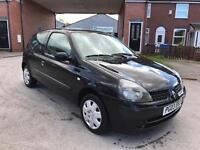 *** 2003 RENAULT CLIO 1.2 EXPRESSION 16v MOTED *** £495
