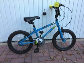 """Apollo Ace Boys Bike - 16"""" (for 5-7yr olds)with Stabilisers"""