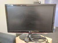 """LG LCD Computer Monitor 21.5"""" 1080p"""