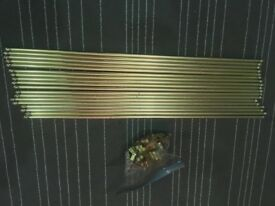 Brass stair carpet runners