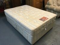 VERY NICE DIVAN BED WITH FOUR DRAWER STORAGE
