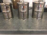 Ben De Lisi Tea, Coffee and Sugar jars