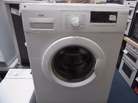 NEW GRADED WHITE LOGIK 6 KG 1200 SPIN WASHING MACHINE JUST £139!!! REF: 31217