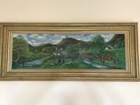 D J Kewley painting