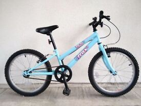 """FREE Bell with (2686) 20"""" 10"""" TRAX TR.20 GIRLS KIDS CHILD BIKE BICYCLE; Age: 6-8; Height: 117-132 cm"""