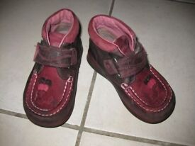 TODDLER GIRLS CLARKS ANKLE BOOTS 8.5G (£40+ Mothercare) Fab Condition 90% off the original price!