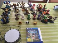 Skylanders imaginators bundle 22x figures PS4 Game and extras