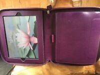 Filofax A5 organiser with iPad compartment