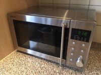 Sharp 800W Standard Microwave - Stainless Steel