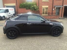 MINI COUPE S DIESEL LOW MILES 37K FSH 2 KEYS SAT NAV BLUETOOTH 2 KEYS PX WELCOME NATIONWIDE DELIVERY