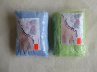 fitted sheet x 2, terry towel - frotte, toddler, ***brand new***