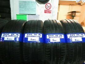 205 55 16 MATCHING MICHELIN ENERGY SAVER TYRES X4 £120 INC FITTING AND BALANCE#OPEN 7 DAYS#