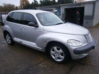 ** NEWTON CARS ** 00 W CHRYSLER PT CRUISER 2.0 TOURING EDITION, 5 DR, 113,000 MLS, FULL MOT SUPPLIED