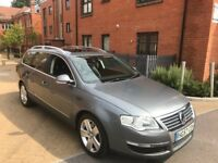 VOLKSWAGEN PASSAT SEL 2008 ESTATE 170 BHP DIESEL **HEATED LEATHER SEATS ** SUNROOF ** 12 MONTH MOT